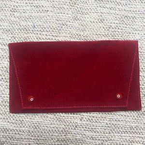 NEW AUTHENTIC CARTIER SUEDE STORAGE POUCH